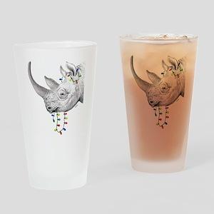 rhinolights Drinking Glass