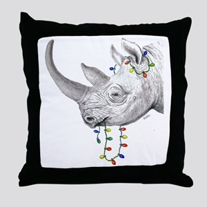 rhinolights Throw Pillow