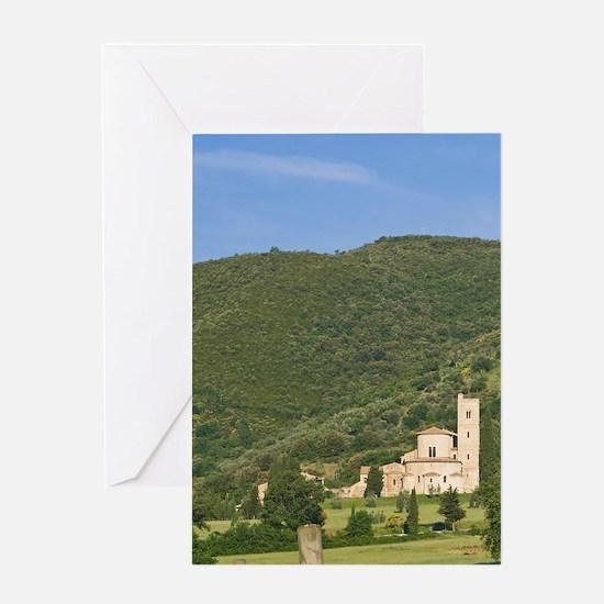 Abbazia di Sant'Antimo (St. Antimo A Greeting Card