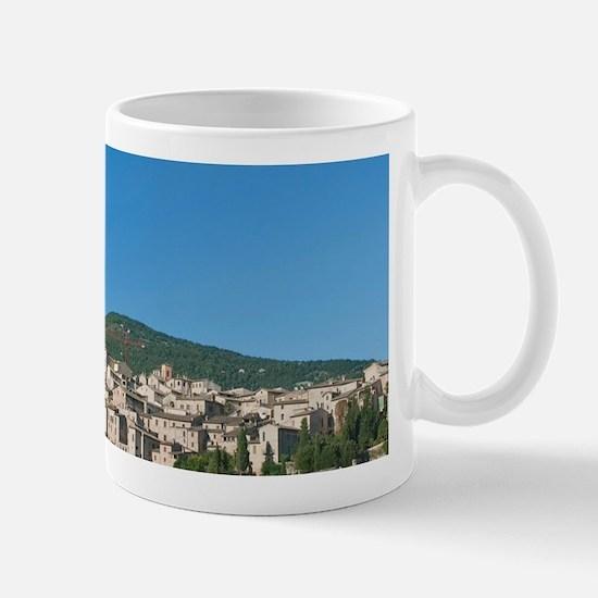 Europe, Italy, Umbria, Spello Town Mug