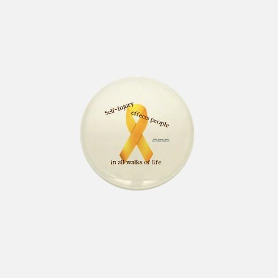 Self-Injury Ribbon Mini Button