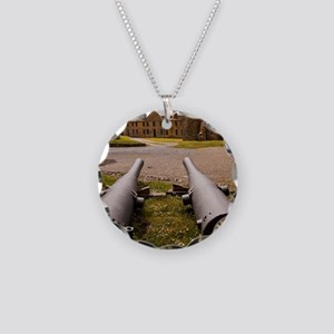 Charles Fort barracks and an Necklace Circle Charm