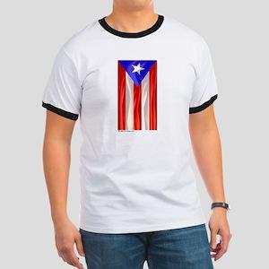 Bandera de Puerto Rico Ringer T