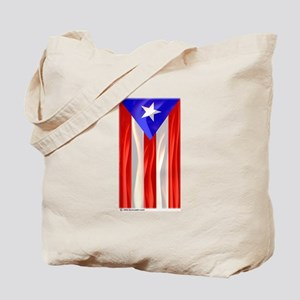 Bandera de Puerto Rico Tote Bag