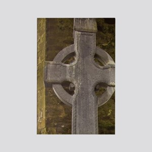 High Cross Headstone in a stone r Rectangle Magnet