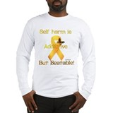 Self injury Long Sleeve T-shirts