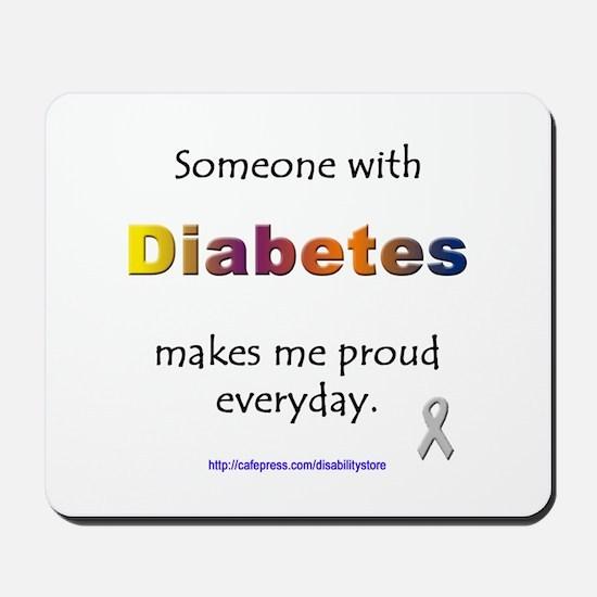 Diabetes Pride Mousepad