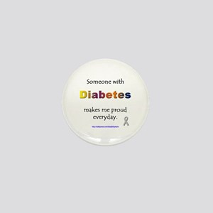 Diabetes Pride Mini Button