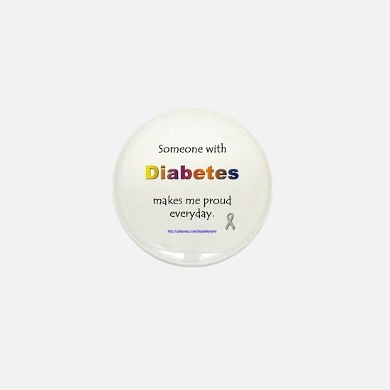 Diabetes Pride Mini Button
