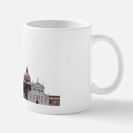Italy - A church can be seen across the Mug