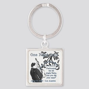 Larry Square Keychain