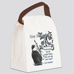 Larry Canvas Lunch Bag