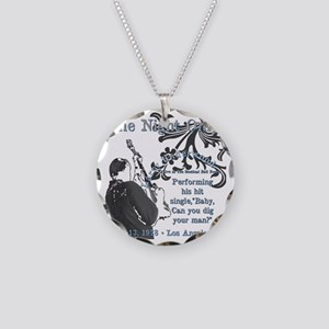 Larry Necklace Circle Charm