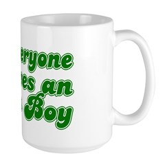Everyone Loves an Irish Boy Large Mug