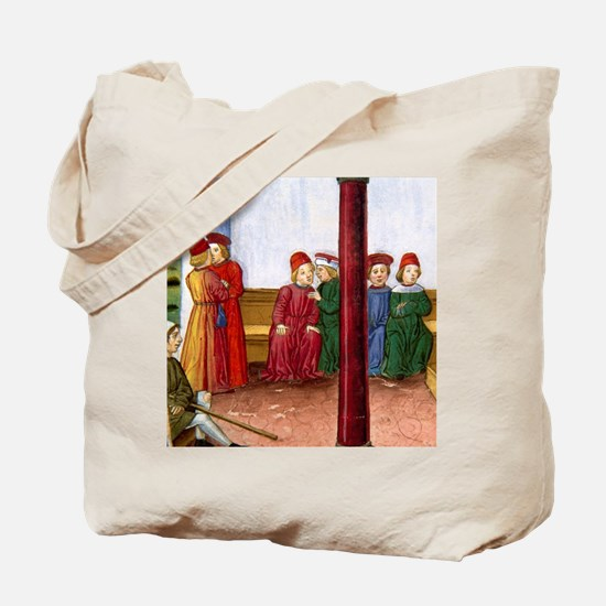 Jesus heals the sick on Saturday with his Tote Bag