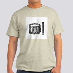 Snare Drum & Sticks Light T-Shirt