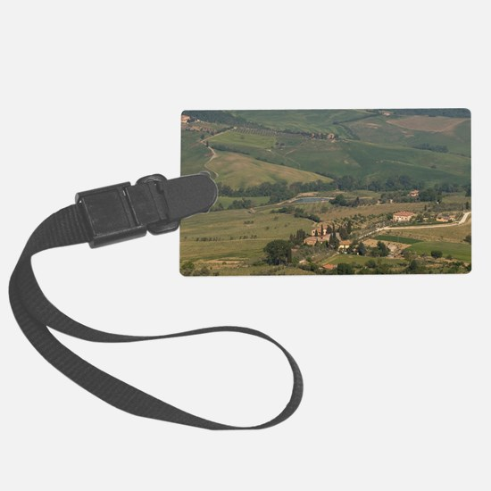 Montepulciano, Val d'Orcia, Sien Luggage Tag