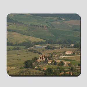 Montepulciano, Val d'Orcia, Siena provin Mousepad