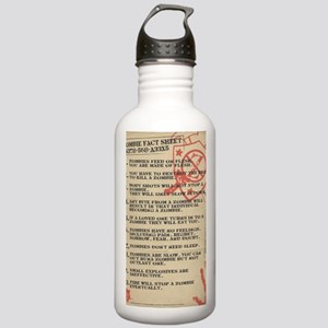 zombie-fact-sheet Stainless Water Bottle 1.0L