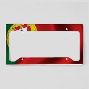portugal_flag License Plate Holder