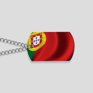 portugal_flag Dog Tags