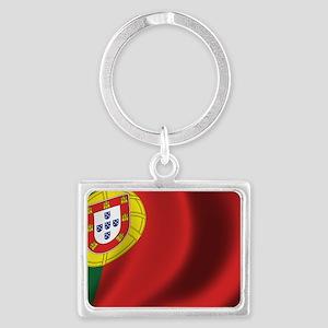 portugal_flag Landscape Keychain