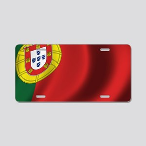 portugal_flag Aluminum License Plate