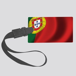 portugal_flag Large Luggage Tag