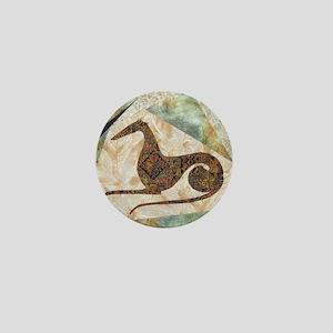 Tribal Square Mini Button