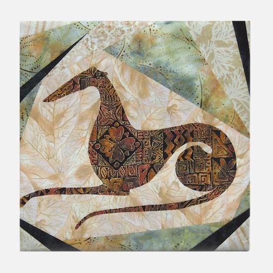 Tribal Square Tile Coaster