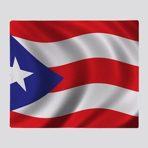 puerto_rico_flag Throw Blanket