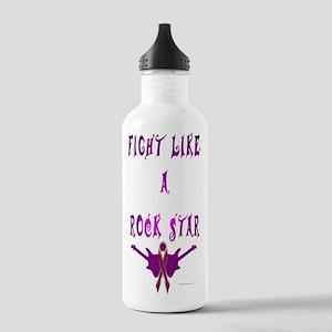 Epilepsy Rock Star Water Bottle
