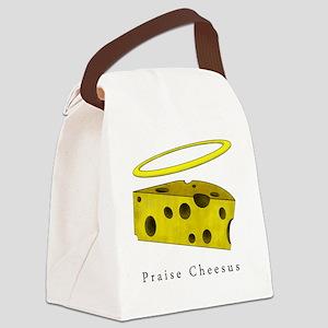 PraiseCheese_Lightshirt Canvas Lunch Bag