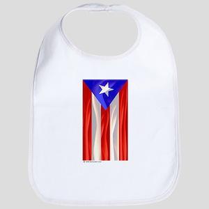 Bandera de Puerto Rico Bib