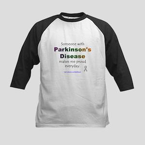 Parkinson Pride Kids Baseball Jersey