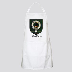 MacLaren Clan Crest Tartan BBQ Apron