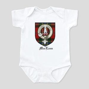MacLean Clan Crest Tartan Infant Bodysuit
