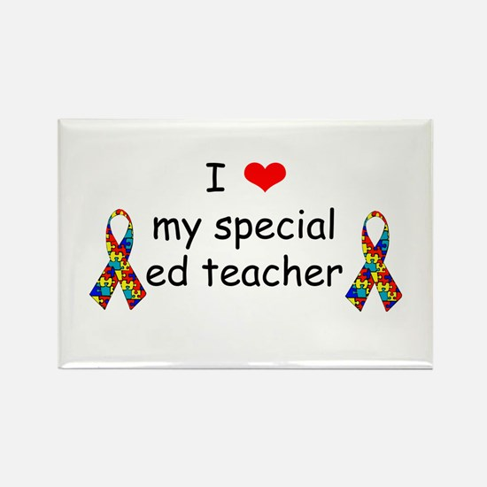 I Love My Special Ed Teacher Magnets