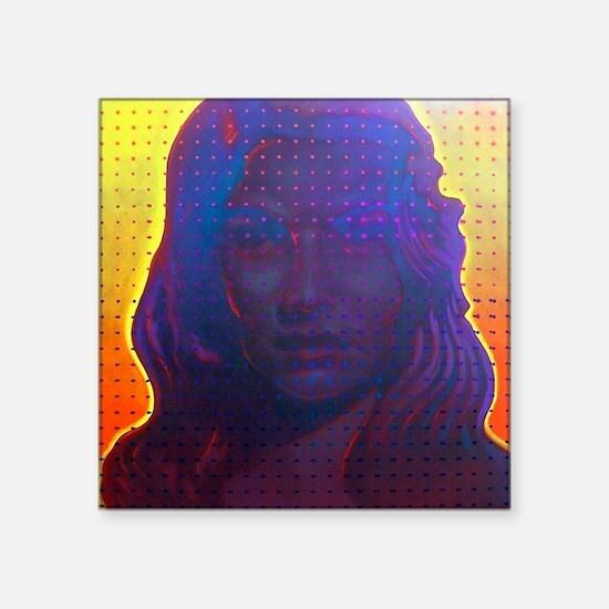 "Eve Square Sticker 3"" x 3"""