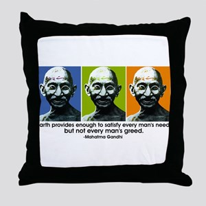 Earth provides Throw Pillow