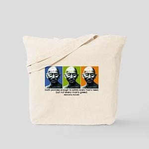 Earth provides Tote Bag