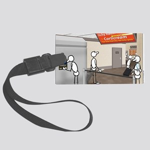 Great Moments: Airport Security Large Luggage Tag