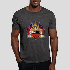 Mother Heart Tattoo Dark T-Shirt