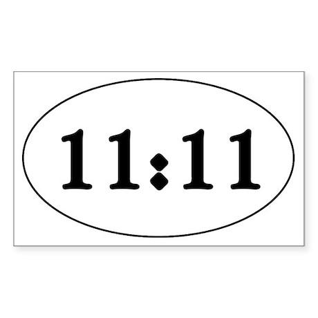 1111 Sticker (Rectangle)