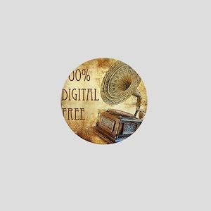 100% Digital Free Mini Button