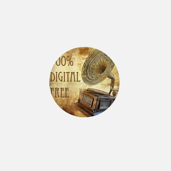100% Digital Free Mini Button
