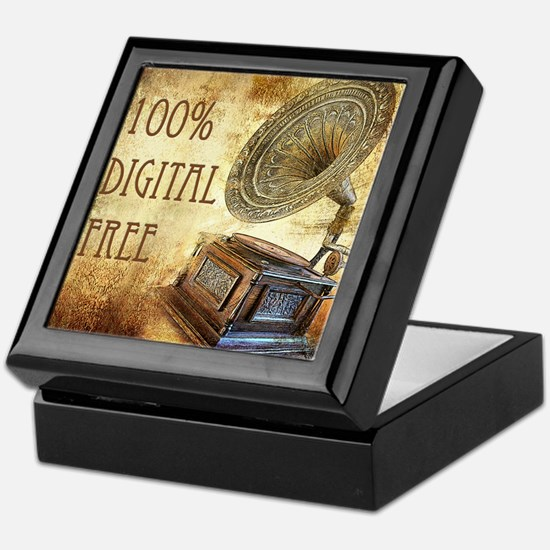 100% Digital Free Keepsake Box