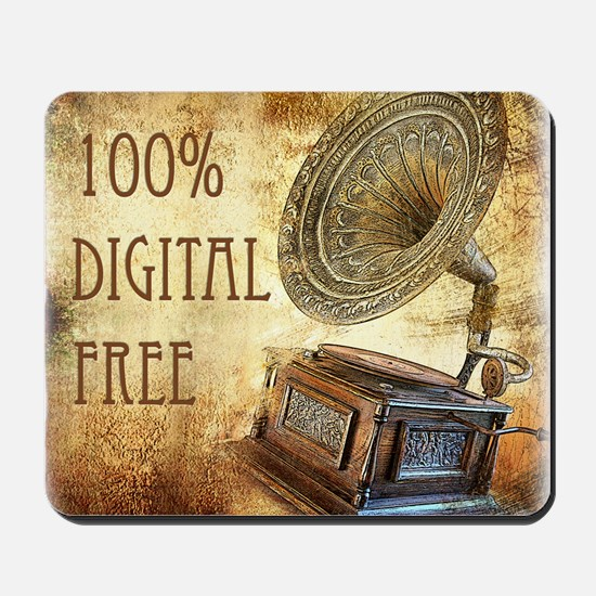 100% Digital Free Mousepad