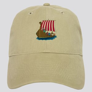 Viking Ship Cap