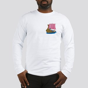 Viking Ship Long Sleeve T-Shirt